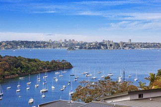 Fabulous Character Semi with Stunning views over Little Sirius Cove