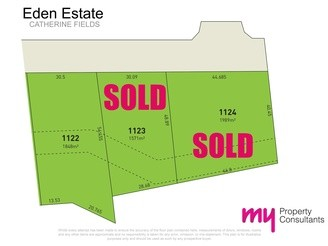 LOT 1122 Eden Estate, CATHERINE FIELD