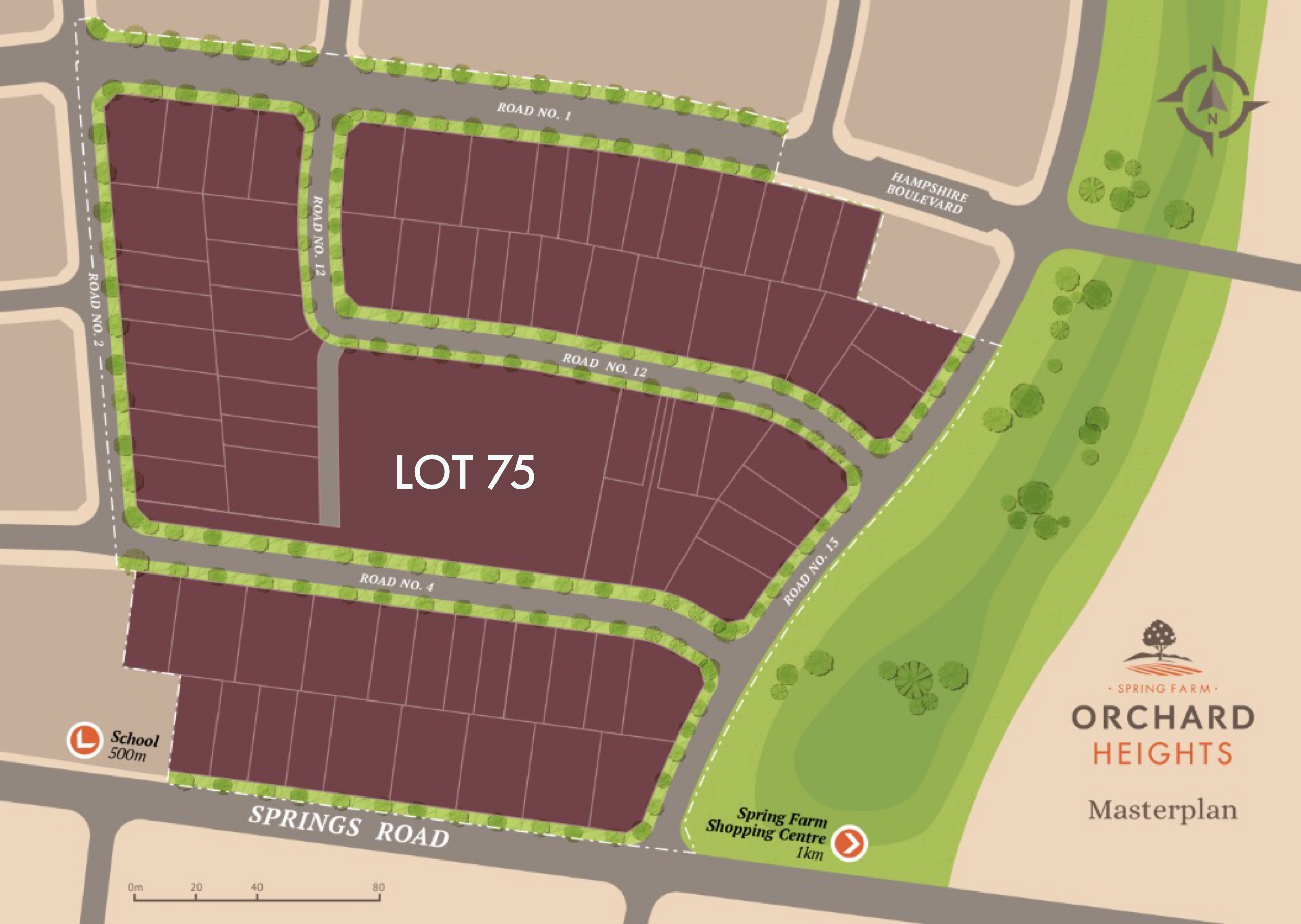 Lot 75  Orchard Heights, SPRING FARM