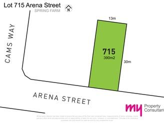 Lot/715 Arena Street, SPRING FARM