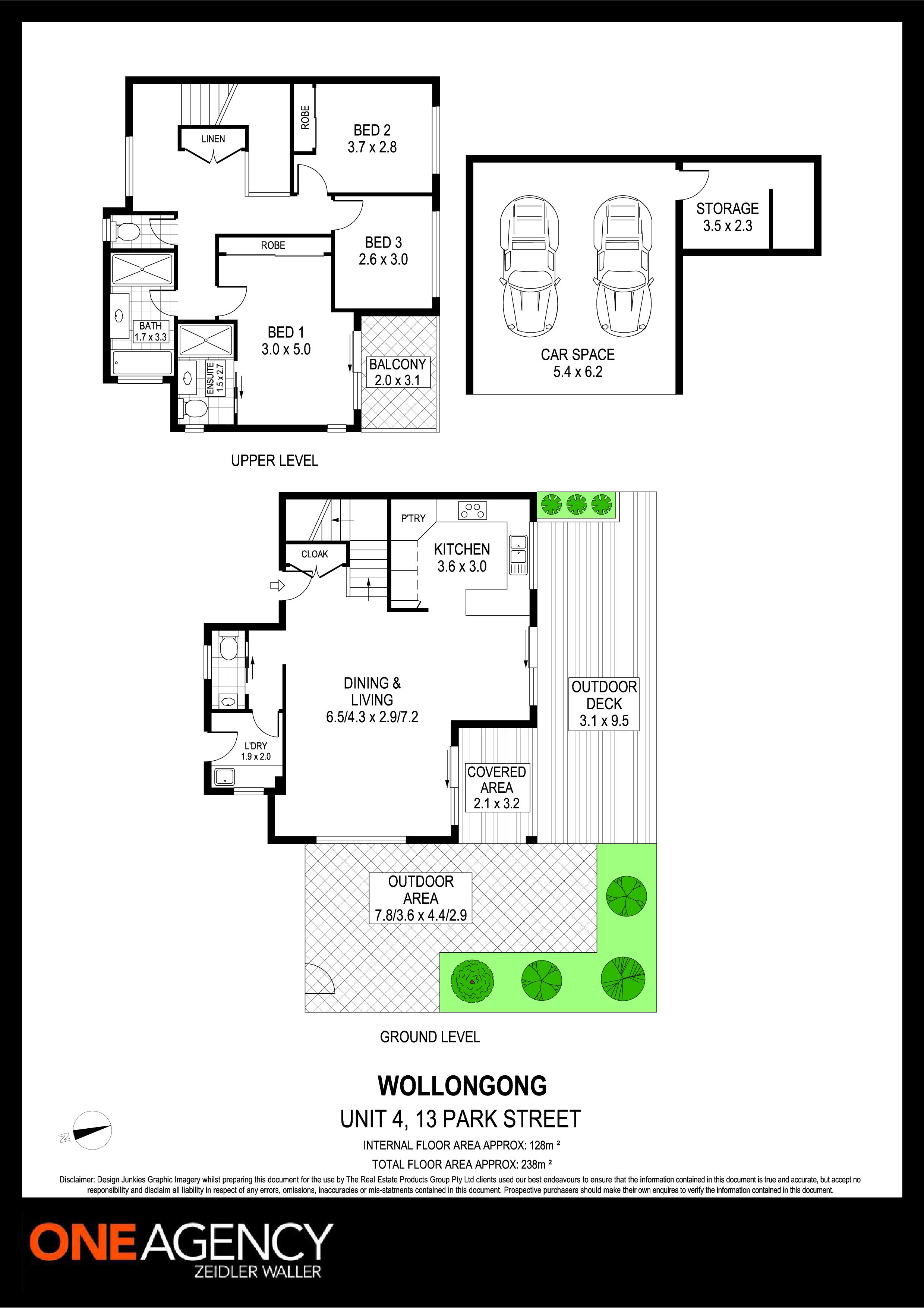 4/13 Park Street, Wollongong NSW 2500 Floorplan
