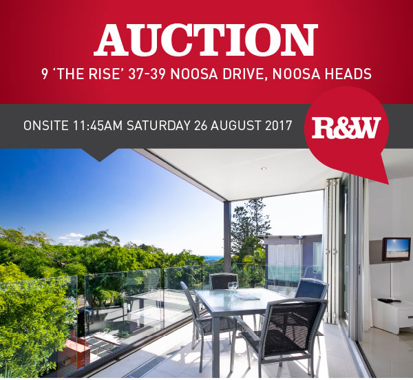 Auction by R&W Noosa