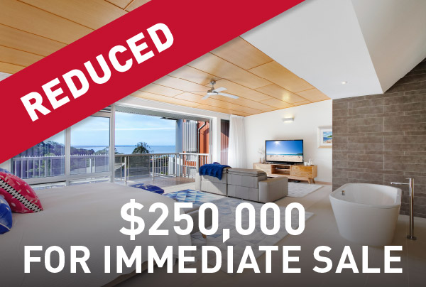 Reduced by $250,000 for immediate sale
