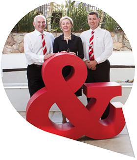 Photo of the three company directors, Peter, Jennifer and Shane