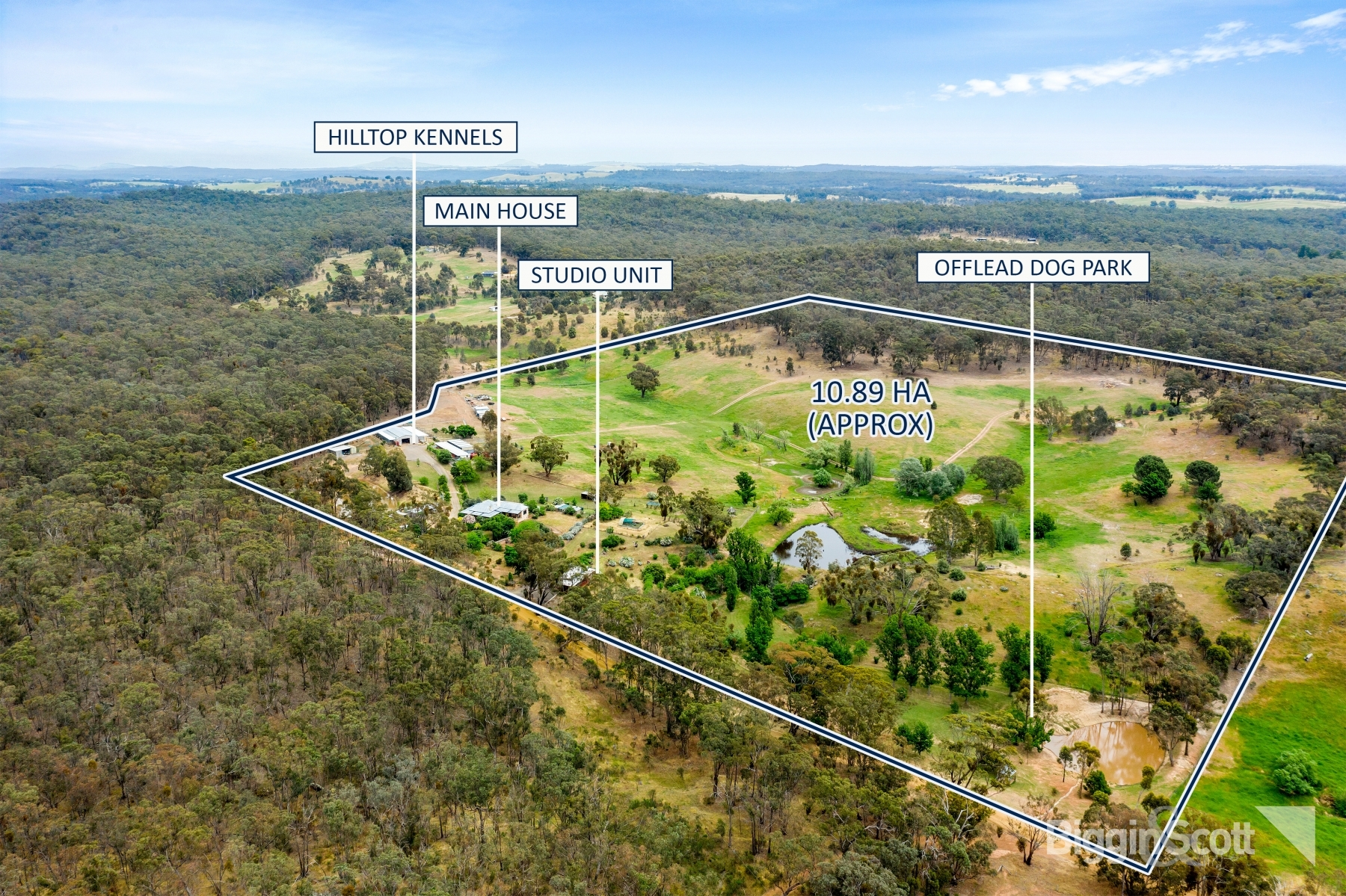 300, Shicer Gully Road, GUILDFORD, VIC 3451