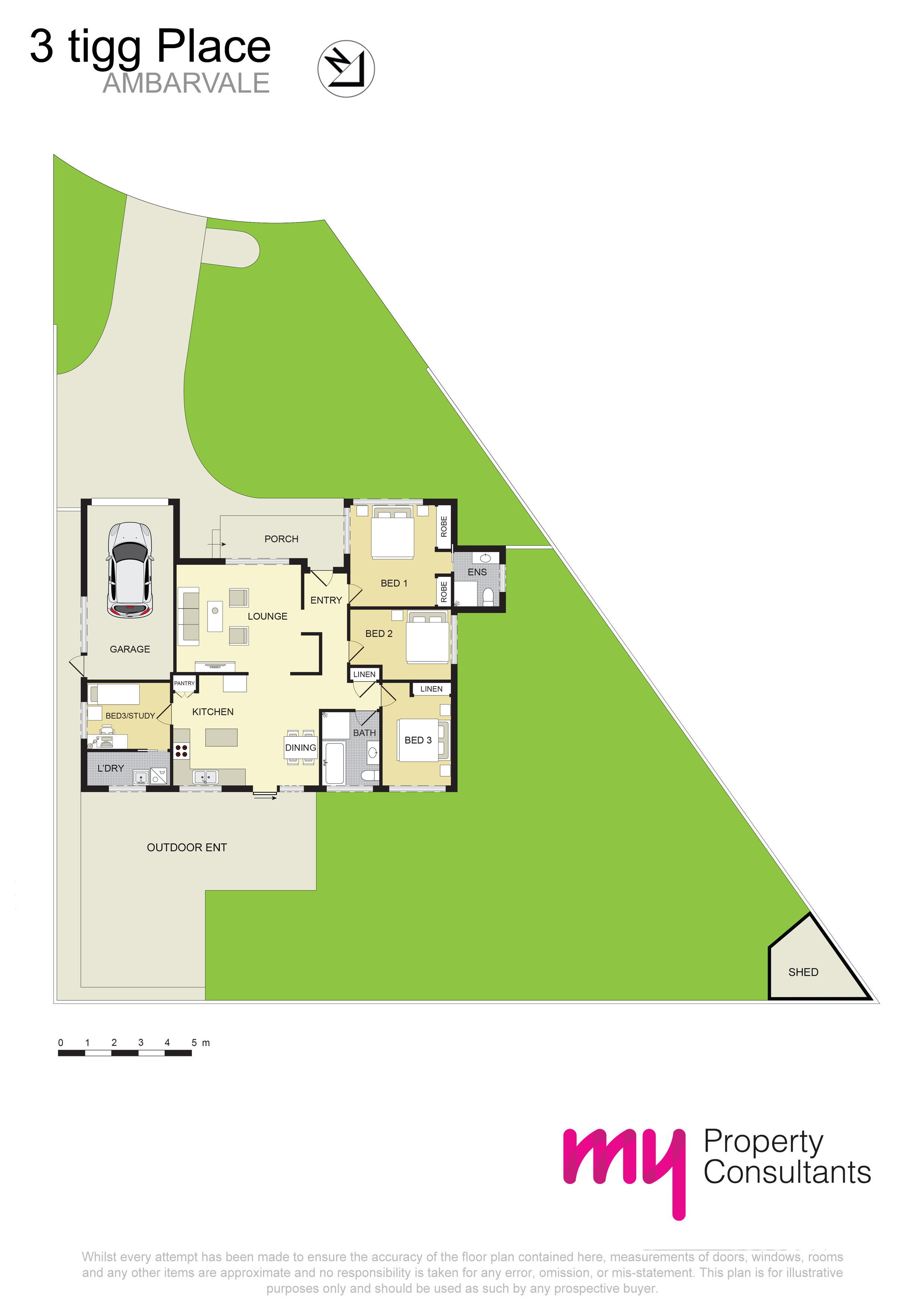 3 Tigg Place, AMBARVALE