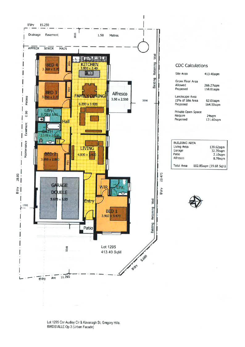 Lot 1295 Audley Circuit, GREGORY HILLS
