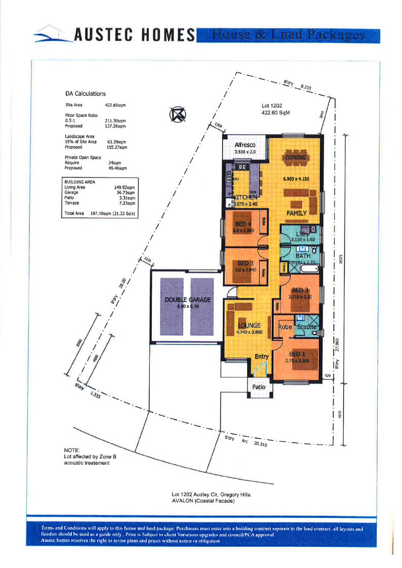 Lot 1202 Audley Circuit, GREGORY HILLS