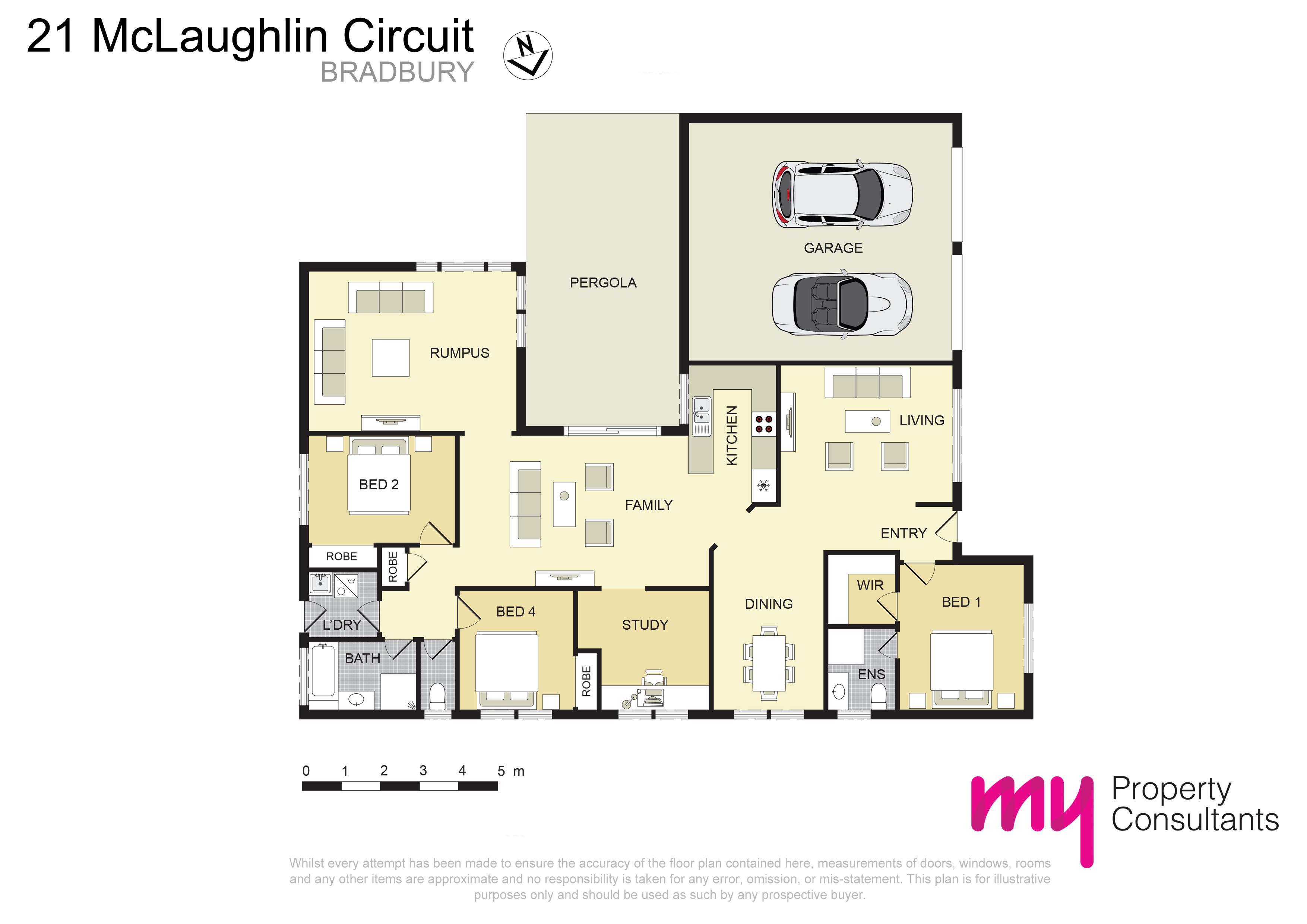 21 McLaughlin Circuit, BRADBURY