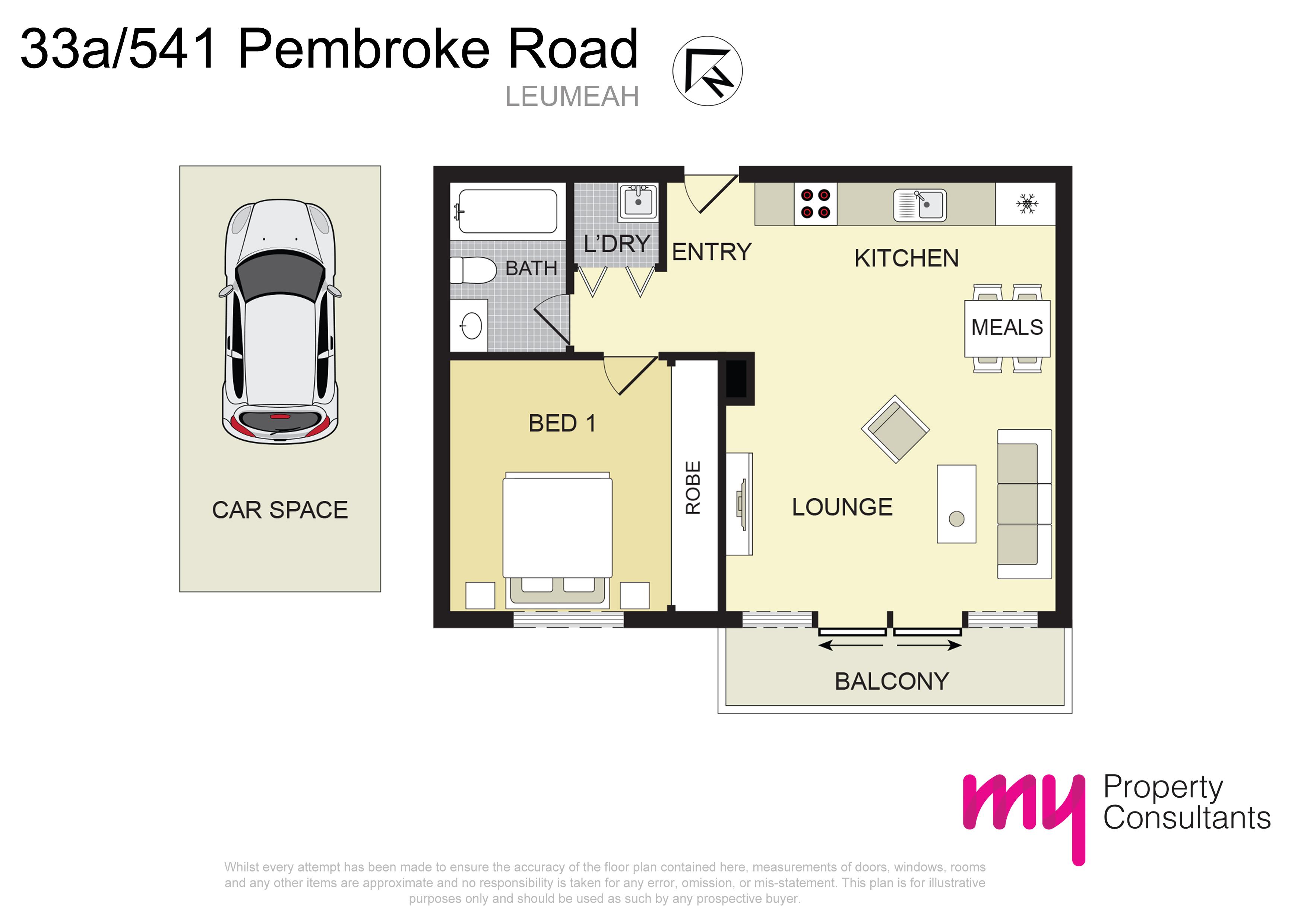 33A/541 Pembroke Road, LEUMEAH