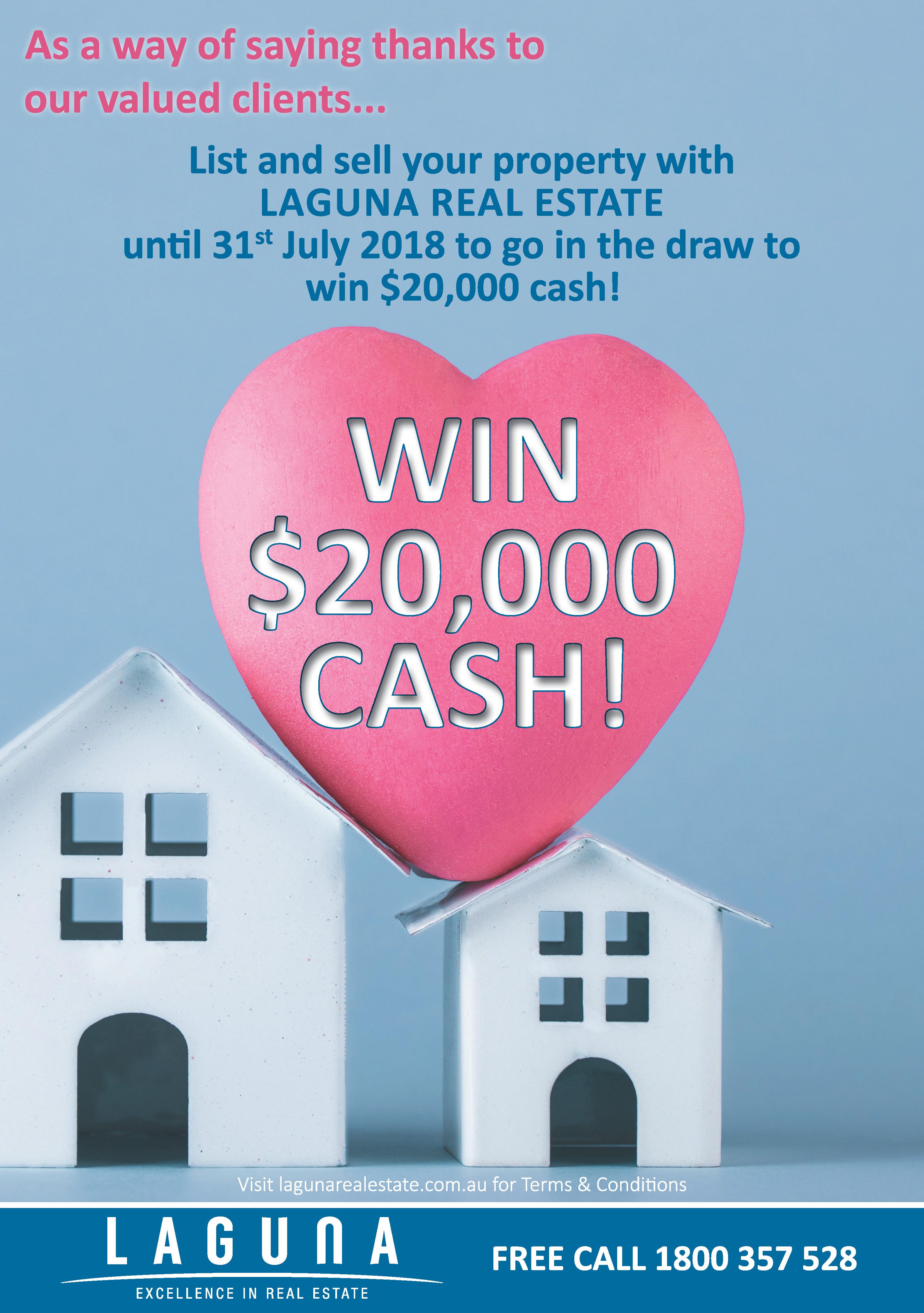 $20,000 Cash Giveaway