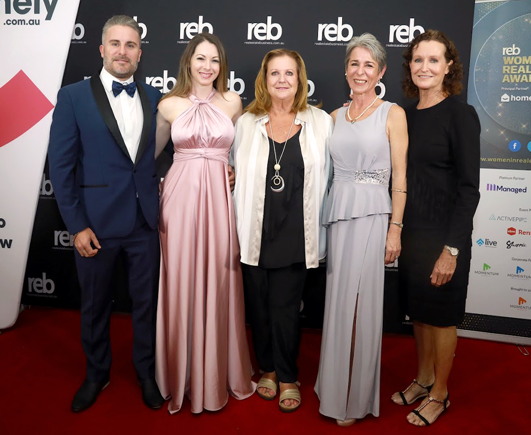 The Laguna Team at the REB Women In Real Estate Awards