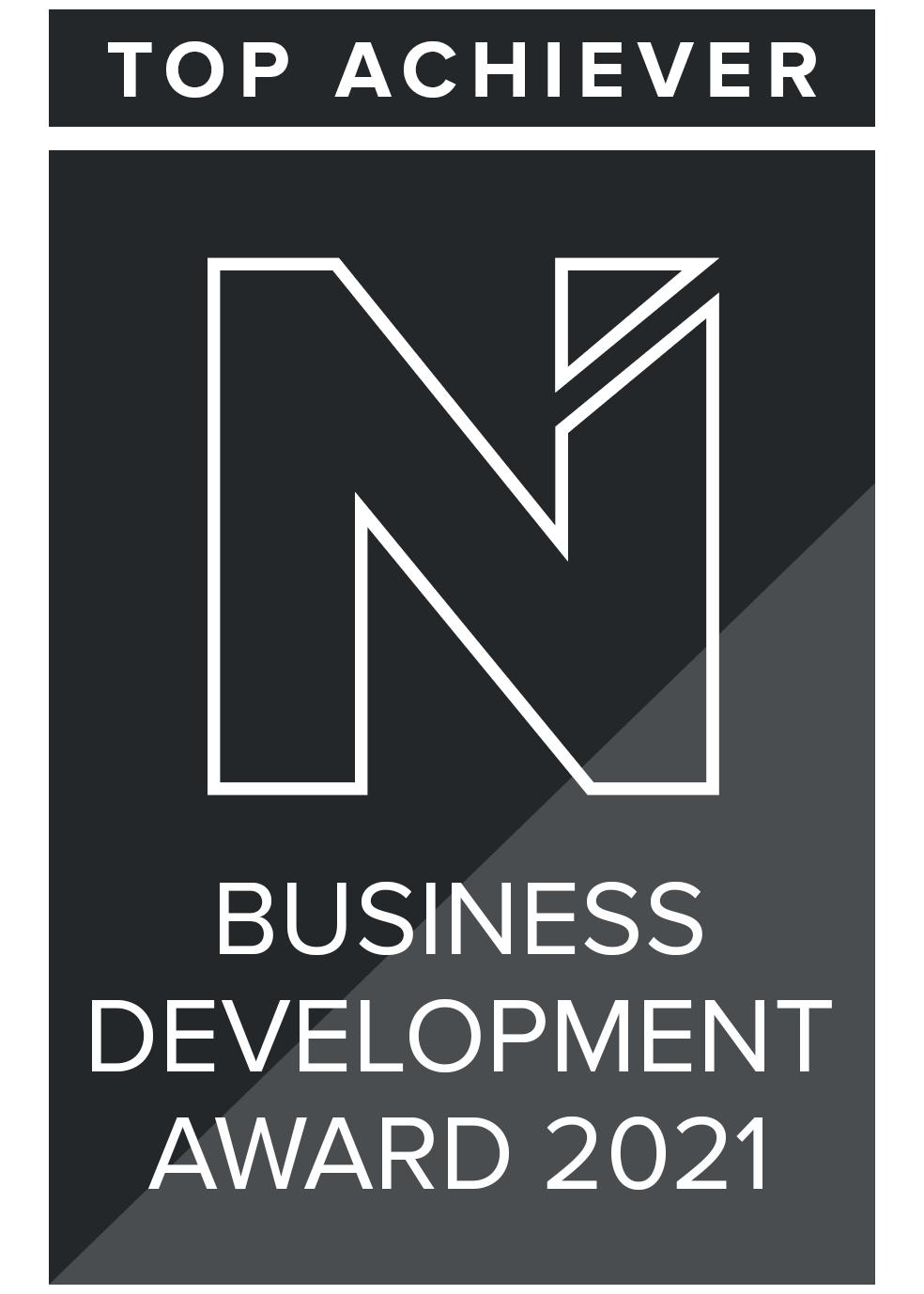 Toni & Reagan - Business Development Award