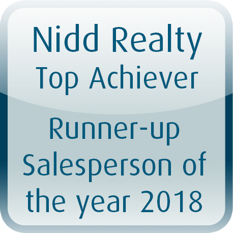 Runner-up Salesperson 2018