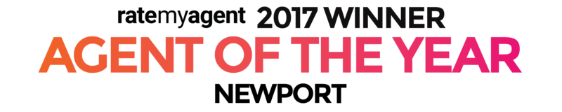 ratemyagent 2017 winner. Agency of the year. Newport